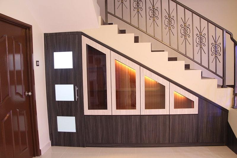 hình ảnh tủ gầm cầu thang